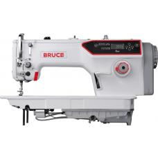 Bruce R6F Беспосадочная швейная машина с полусухой головкой и автоматическими функциями, для средних материалов