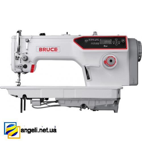 Bruce R6F-H промышленная швейная машина (беспосадочная) с полусухой головкой и автоматическими функциями, для тяжёлых материалов