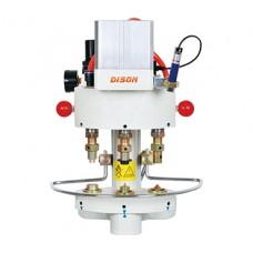 Dison DS-03-100 пневматический пресс 3х позиционный для установки металлофурнитуры