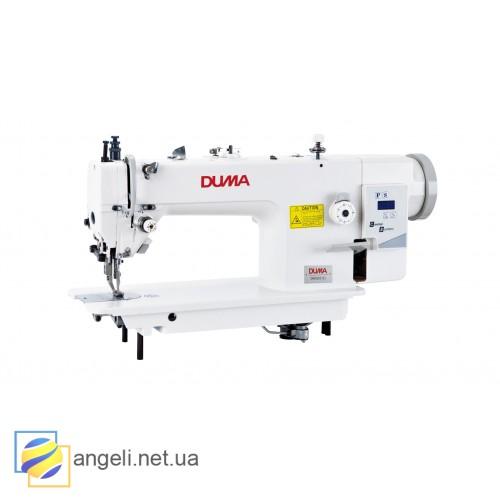 DUMA DM0303-D1 Прямострочная швейная машина для средних и тяжелых тканей c двойным продвижением