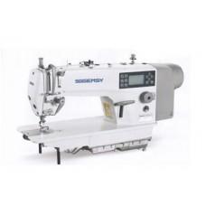 """Gemsy GEM 8960-ME4-H-DC промышленная швейная машина с автоматикой для средних и тяжёлых тканей, """"полусухая голова"""""""