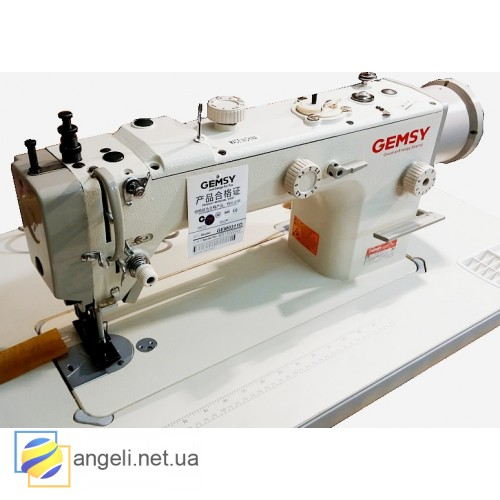 """Gemsy GEM0311D Промышленная швейная машина с шагающей лапкой и """"перетопом"""""""