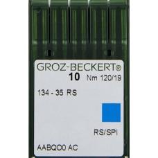 Игла Groz-Beckert 134-35, 2134-35, DPx35 RS для колонковых машин 10 шт/уп