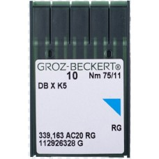 Игла Groz-Beckert DBxK5 вышивальная 10 шт/уп