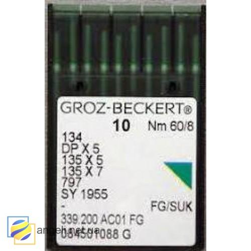 Игла Groz-Beckert DPx5 FG с толстой колбой для трикотажа