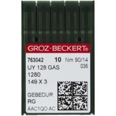 Игла Groz-Beckert UY128GAS SAN 6 GEBEDUR улучшенная распошивальная для джинса 10 шт/уп