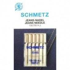 Игла Schmetz JEANS 130/705 H-J VCS №70,80,90,100,110 для джинсовой ткани