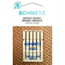 Игла Shmetz JERSEY 130/705 H SUK VDS №70,80,90,100 для вязаных изделий и трикотажа