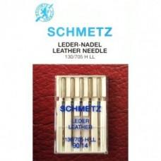 Игла Schmetz LEATHER 130/705 H LL VDS №80,90,100,110,120 для кожи