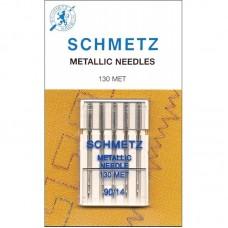 Игла Shcmetz METALLIC 130 MET VDS №90 для шитья металлизированными нитями