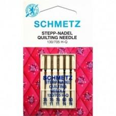 Игла Shmetz  QUILTING 130/705 H-Q V3S ассорти №3-75, №2-90 для стежки и лоскутного шитья