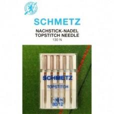Игла Schmetz  TOPSTITCH 130 N VCS №80,90 для отстрачивания