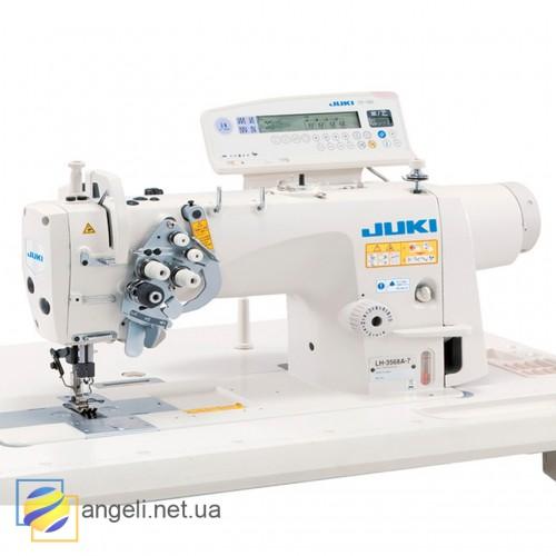 Juki LH-3568ASF-7WB/AK135 Двухигольная швейная машина челночного стежка с автоматическими функциями
