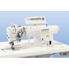 Двухигольная швейная машина Juki LH-3588AGF с увеличенными челноками и отключением игл