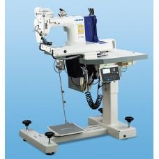 Juki MS-1261A трёхигольная швейная машина двойного цепного стежка с П-образной платформой