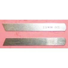 Нож нижний 112436-001 (155193-001) Brother