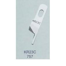 Нож верхний победитовый KR23C Siruba