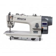 Minerva 9800JE4 Промышленная прямострочная швейная машина с автоматикой для легких и средних тканей
