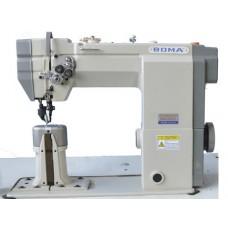 Boma BMA-9920 Двухигольная колонковая машина с прямым приводом