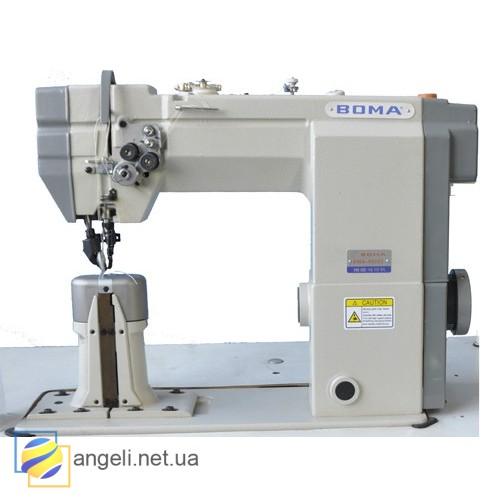 Boma BMA-9920 Колонковая швейная машина двух игольная с прямым приводом