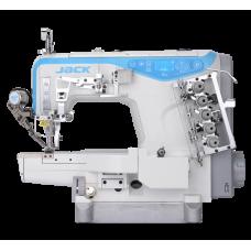 Jack K4-UT-01GB 356/364 Распошивальная машина с цилиндрической платформой и обрезкой нити