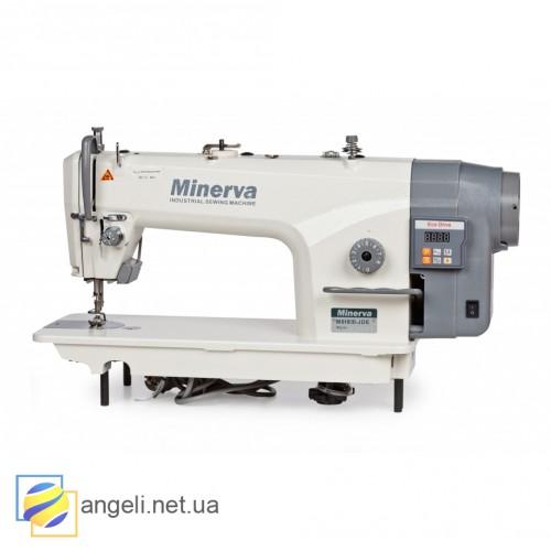 Minerva M8180B-JDE  Промышленная прямострочная швейная машина с увеличенным челноком