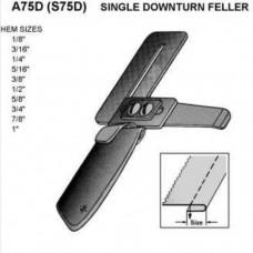 A75D приспособление для одинарной подгибки вниз