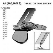 A4 Окантователь приставной для одинарной подгибки заглаженной бейки