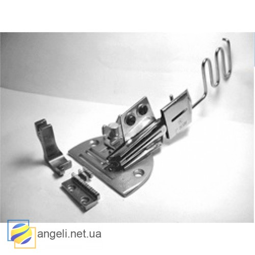 K10 Окантователь в 4 сложения для косой бейки с регулировкой наклона подачи бейки