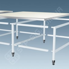 Каркас стола раскройного модульный, ширина 1,7м