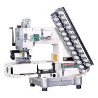 Siruba VC008-12064Р/VCE/RL 12 игольная швейная машина c роликами для растяжки резинки
