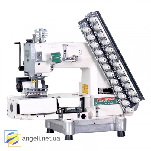 12-ти Игольная швейная машина Siruba VC008-12064P/VCE/RL