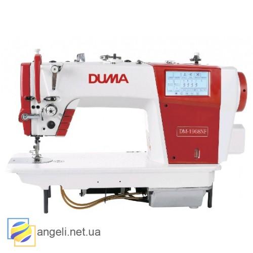 Duma DM 1968NF Промышленная швейная машина с прямым сервоприводом, дополнительным игольным продвижением и автоматическими функциями