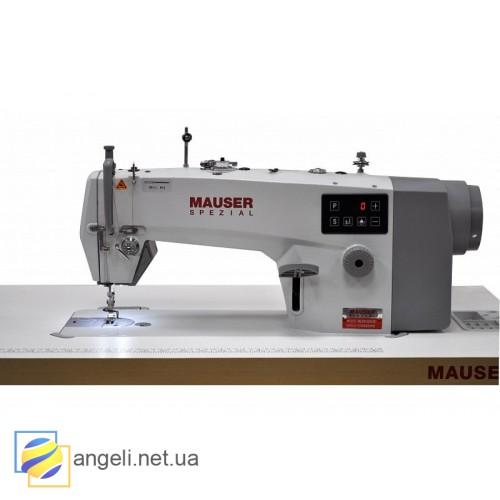 Mauser Spezial ML8121-E00-СC Прямострочная промышленная швейная машина для средних и тяжёлых материалов