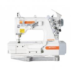 Siruba F007K-W162-364/FHA плоскошовная швейная машина (распошивалка) с высоким подъемом лапки и устройством для подгибки