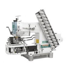 Siruba VC008-12064P/VSM двенадцатиигольная машина цепного стежка для выполнения декоративных строчек
