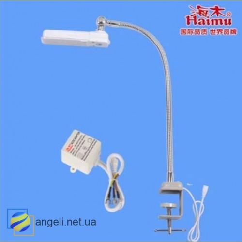 HM-97 LED Светильник на гибкой струбцине с креплением к столу