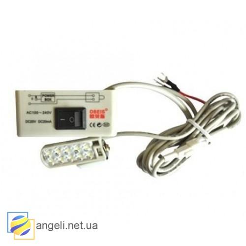 Светильник для промышленной швейной машины магнитный светодиодный OBS-610MS