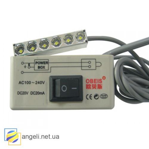 Светильник для промышленной швейной машины магнитный светодиодный OBS-806M