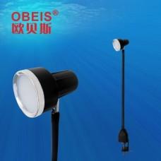OBS-830G (55B) Светильник на гибкой струбцине с креплением к столу