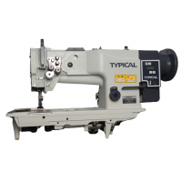 Typical GC20606-1D одноигольная швейная машина с тройным продвижением и встроенным сервомотором
