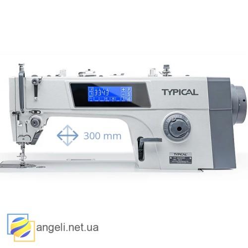 Typical GC6890-HD4 промышленная швейная машина с автоматикой для легких и средних тканей, с увеличенным рукавом