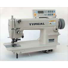 Typical GC6170D2 одноигольная машина с обрезкой края материала, встроенным сервоприводом и автоматикой