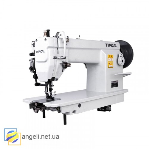 Беспосадочная швейная машина с тройным транспортом для кожи Typical GC6-7D