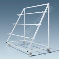 Тележка РР-2 для размотки рулонов ткани треугольная