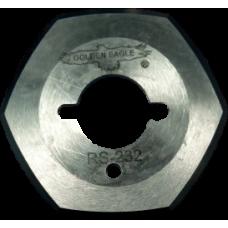 RS-232 (RS-50) шестиугольное дисковое лезвие диаметром 50мм на раскройный нож