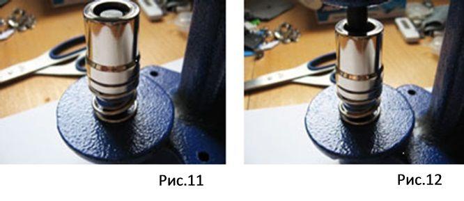 Пресс для обтяжки пуговиц Presmak-d1